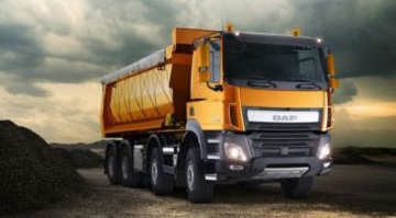 Video: DAF CF Euro 6 Dumper